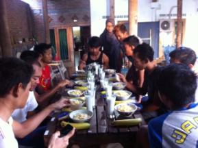 Food Portioning Pegasus Cycling Team