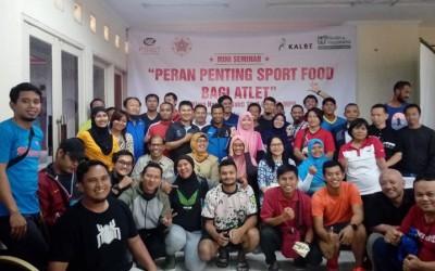 "Mini Seminar ""Peran Penting Sport Food Bagi Atlet"" bersama PT Kalbe Farma di PPOP DKI Jakarta"