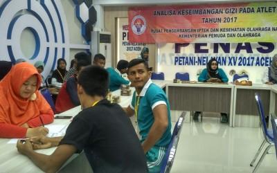 Kajian Keseimbangan Gizi Pada Atlet Program Pembinaan dan Pelatihan Pelajar (PPLP) Aceh